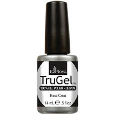 EzFlow Trugel Led/UV Gel Polish - Base Coat - 0.5oz/14ml